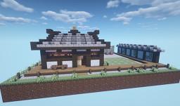 The Morita Dojo Minecraft Map & Project