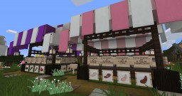 Market Stalls Minecraft Map & Project