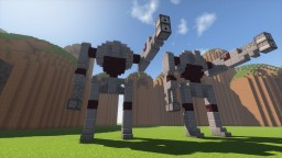 Super Droid STAR WARS Minecraft Map & Project