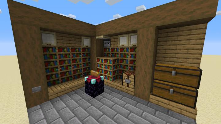 Enchanting Room Minecraft Map