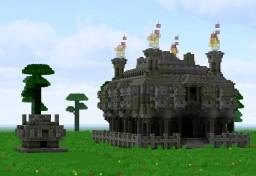 3:1 Jungle Temple Minecraft Map & Project