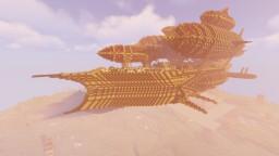 Air Battleship - Red Sky Minecraft Map & Project