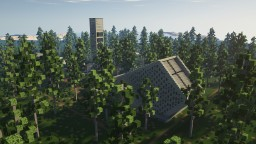Church in a pine forest Minecraft Map & Project