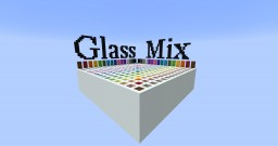 Glass Mix Gradient | Fog, Water, Etc... | Color Guide Minecraft Map & Project
