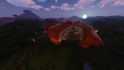 Star Wars KOTOR Ebon Hawk 1:1 Scale Minecraft Map & Project