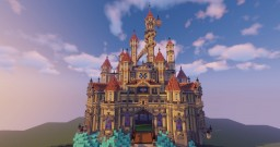 Disneyland inspired magical Castle by PhantasiaWorld Minecraft Map & Project