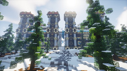 Spawn PVP/Faction - Nordic (800x800) Minecraft Map & Project
