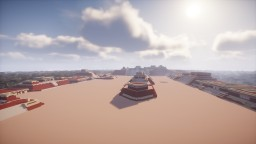 Monte Alban: main plaza Minecraft Map & Project