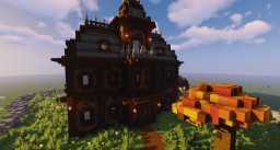 Haunted House - Autumn Tree Minecraft Map & Project