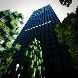 1166 Avenue of the Americas | Skyscraper | New Capital City | [Download] Minecraft Map & Project