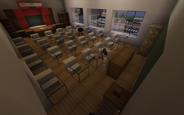 school with custom NPCS