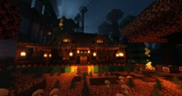 Autumn Cozy Cabin Minecraft Map & Project