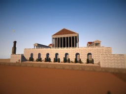 Building Rome, Venus' Temple Minecraft Map & Project