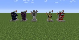 Iconic Cybertronians- A Resourcepack for Fiskfille's Transformers Mod Minecraft Texture Pack