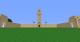 Australian memorial of Villers-Bretonneux | Mémorial Australien de Villers-Bretonneux by Carolus-Magnus Minecraft Map & Project