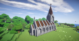 small Church + Tutorial Minecraft Map & Project