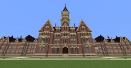 Danvers Insane Asylum Minecraft Map & Project