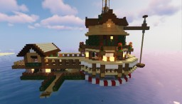house on the water Minecraft Map & Project