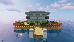 Underwater House Minecraft Map & Project