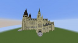 Cathedrale by zRookey | Notré Dame de Bayeux | + DOWNLOAD Minecraft Map & Project