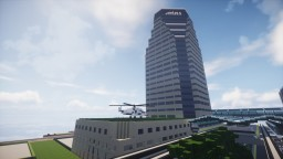 Atlas Industries HQ | Crystal City | ABC Minecraft Map & Project