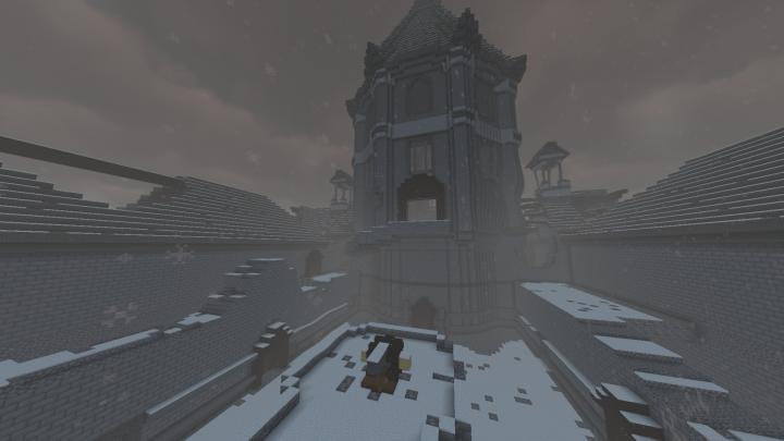 Snowpeak Mansion exteriors
