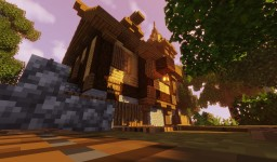 Medieval House/Shop Minecraft Map & Project