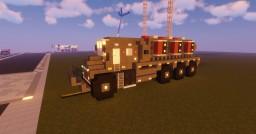 2:1 Scale, Futuristic Bio-Composting Truck Minecraft Map & Project