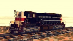 Locomotive EMD SD-9 Southern Pacific Minecraft Map & Project