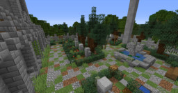 Graveyard / Cemetery + Tutorial Minecraft Map & Project