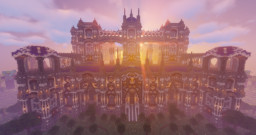 Star Castle Factions Survival Server Spawn Minecraft Map & Project