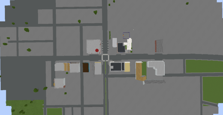 what i have built so far TOWN CENTRE..... -UPDATED PICTURE-