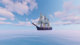 HMS Bounty (Screen are not the Actual boat, sails have been changed, new download comming soon) Minecraft Map & Project