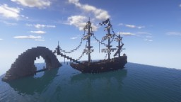 Ghost Ship Diorama Minecraft Map & Project