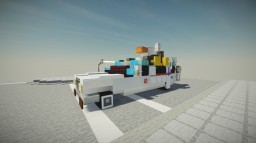 Ecto-1 - Ghostbusters (1984) Minecraft Map & Project