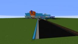 Plaza Del Sol: Retro Revival Minecraft Map & Project
