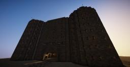 [Fictional] German WW2 Style Flak Tower Minecraft Map & Project