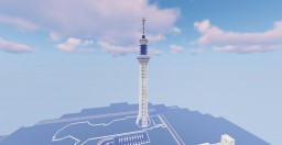 the amazing Tokyo skytree Minecraft Map & Project