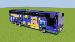 Volvo B11RT Megabus Minecraft Map & Project