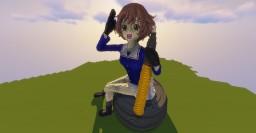 Girls und Panzer - Akiyama Yukari Minecraft Map & Project
