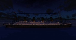 RMS TITANIC v2.0 Minecraft Map & Project