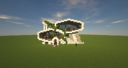 Sci fi family house Minecraft Map & Project