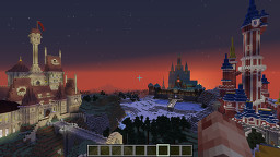 Disney Castles: Wonderful Worlds of Disney Minecraft Map & Project