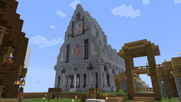 Tetrabear Spawntown Nether Chapel Minecraft Map & Project