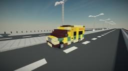 British Ambulance Minecraft Map & Project