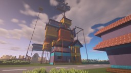 Hello Neighbor Act 3 House Minecraft Map & Project