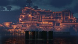 Poseidon's Retreat [Modern Cliff Mansion with Cinematic Tour] Minecraft Map & Project