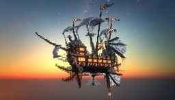 Steampunk Airship Minecraft Map & Project