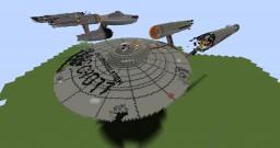 Star Trek USS Constellation Minecraft Map & Project