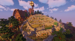 Hillside Farm Minecraft Map & Project